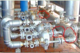 Steam trap installation