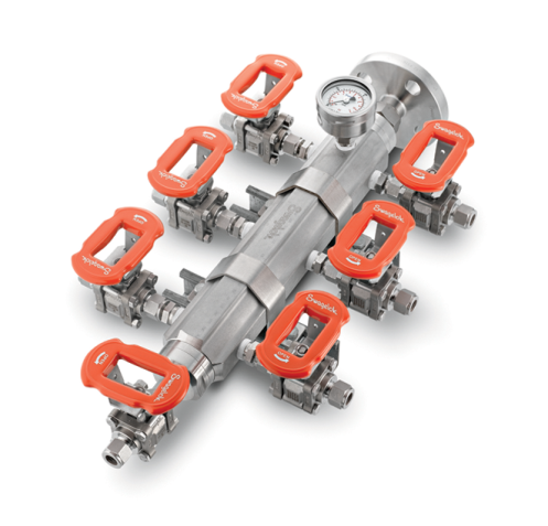 Swagelok's Fluid Distribution Headers: Easy, Fast, and Versatile