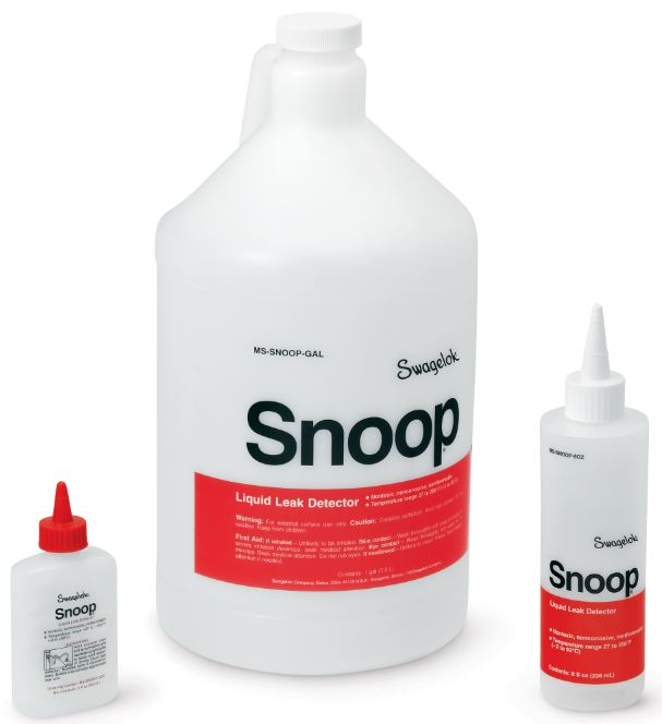 Snoop, SWAK, and Goop - the Best 'Complement' for Swagelok Products