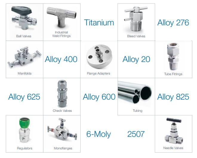 special alloys products