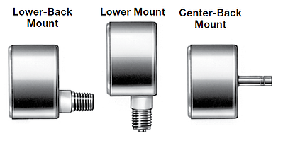 Swagelok Gauge Mount Options