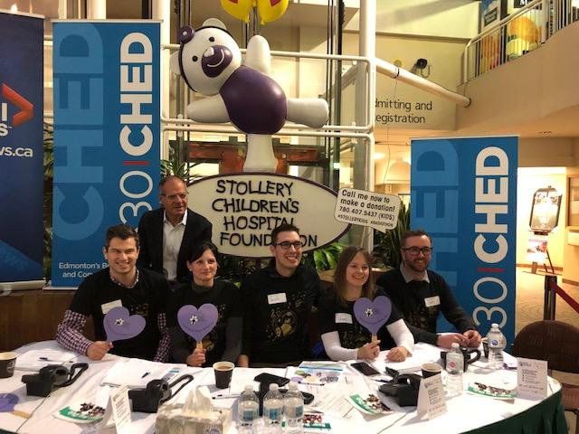 Stollery Corus Radiothon - Stollery Childrens Hospital