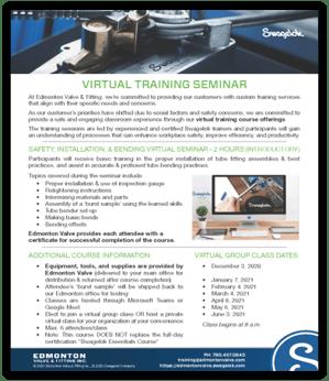 Virtual Training Options Shadow