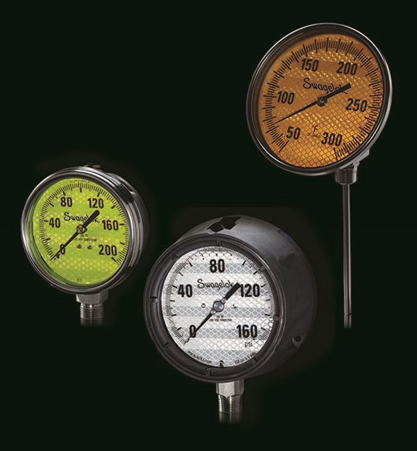 Don't Be in the Dark with Pressure & Temperature Indication