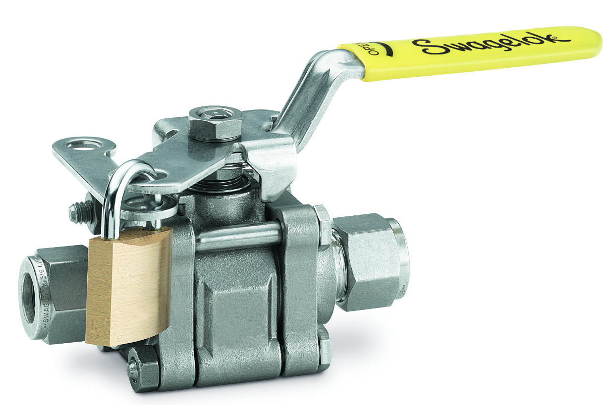 How to Lock Out or Tag Out Swagelok Manually Operated Valves