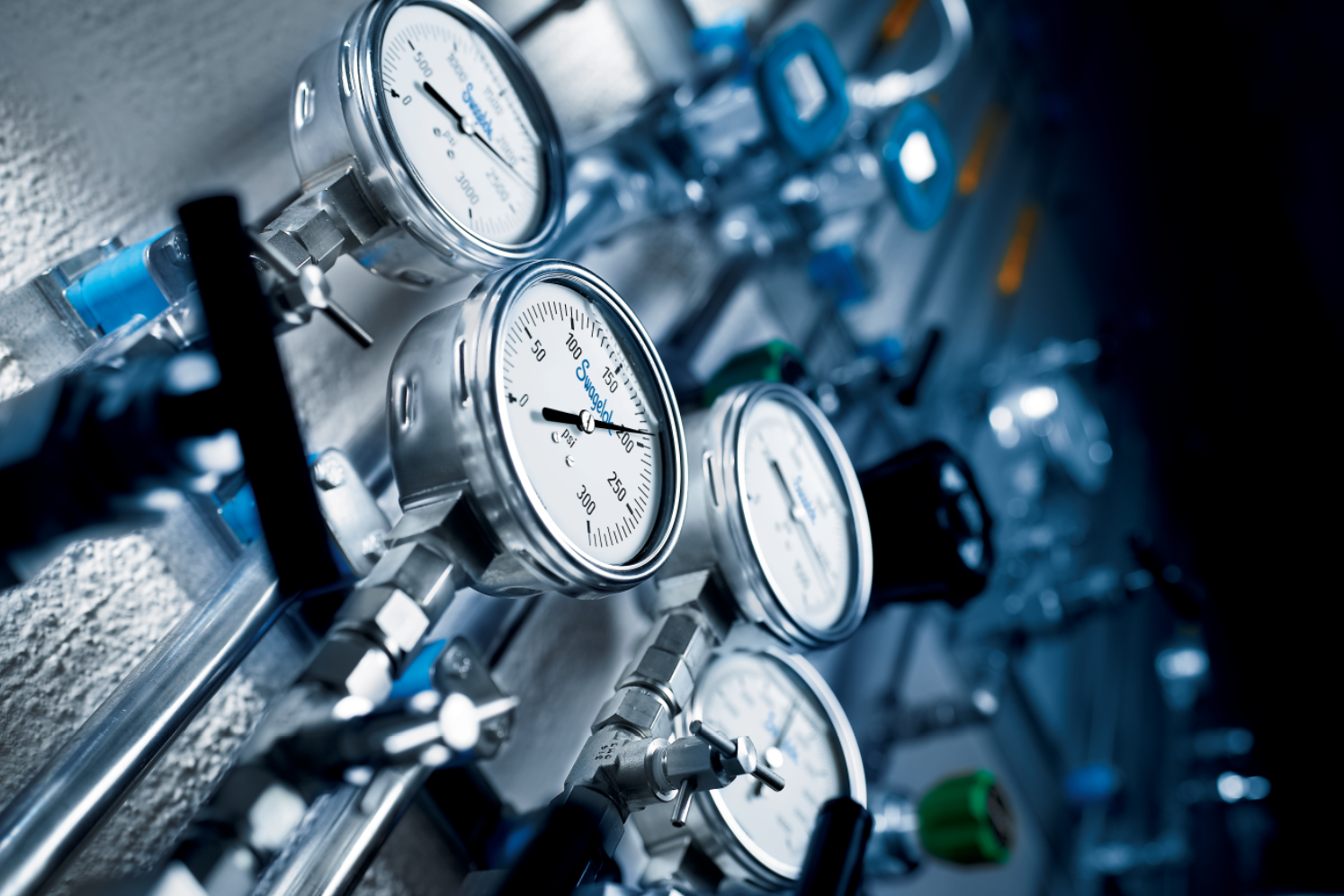 Take the Pressure off with Swagelok Valves, Gauges and Manifolds