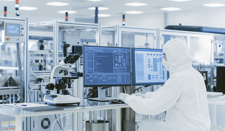Industrial fluid management systems are used in R&D laboratories