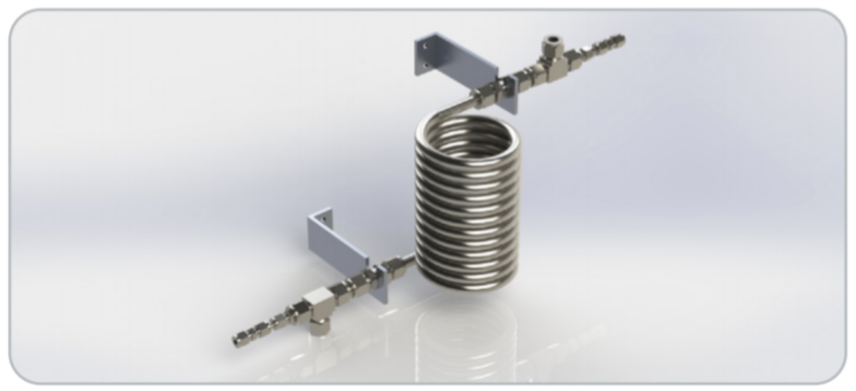 Compare Our Tube-in-Tube Coils to Pre-Packaged Sample Coolers
