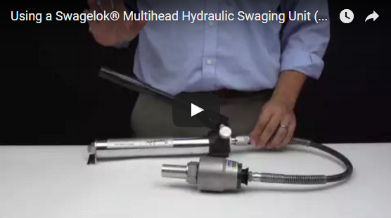 Swagelok's Multihead Hydraulic Swaging Unit Gives You Power